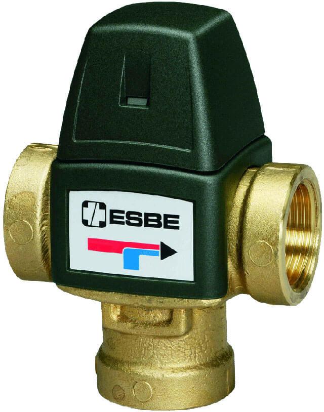 Выбираем трехходовой клапан esbe для отопления и теплого пола – виды кранов эсбе, характеристики Инструкция использования трехходового клапана esbe