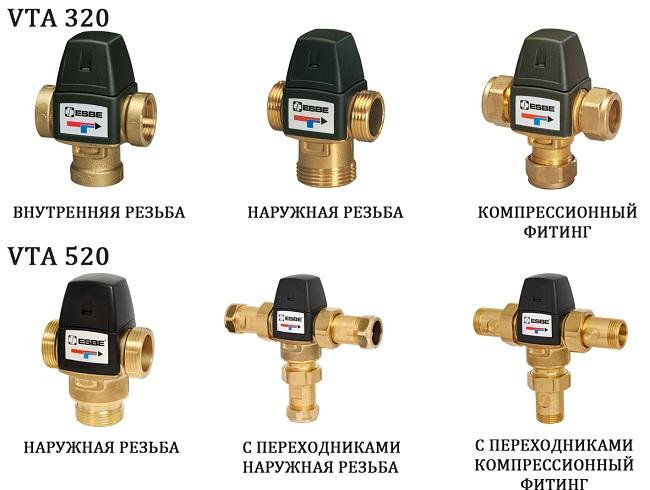 Обзор моделей трехходовых смесительных клапанов Esbe Клапан трехходовой смесительный esbe